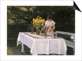 Preparing the Table Prints by Michael Peter Ancher