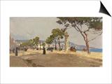 Promenade Des Anglais, Nice Prints by Fausto Zonaro