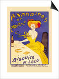 Amandines De Provence Biscuits Art by Leonetto Cappiello