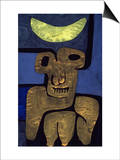 Moon of the Barbarians; Luna Der Barbaren Prints by Paul Klee