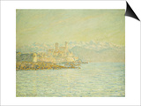 The Old Fort at Antibes Art by Claude Monet