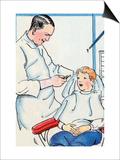 Dentist Prints by Julia Letheld Hahn