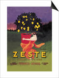 Zeste Prints by Leonetto Cappiello