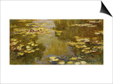 The Lily Pond Prints by Claude Monet