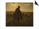 The Shepherd, Circa 1858-1862 Prints by Leon Bakst