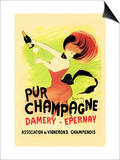 Pur Champagne Art by Leonetto Cappiello