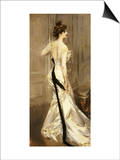 The Black Sash, circa 1905 Prints by Giovanni Boldini