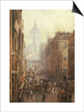 Fleet Street Prints by Rose Maynard Barton