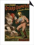 Cognac Otard Dupuy & Co, circa 1910 Poster