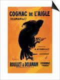 Cognac De L'Aigle Print by Leonetto Cappiello