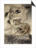 The Ingoldsby Legends: Frontispiece Posters by Arthur Rackham
