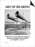 Art of Hearing Prints by Wilbur Pierce