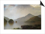 Lake George Landscape Posters by John Frederick Kensett