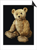 Fine Steiff Pale Golden Plush Covered Teddy Bear with Large Deep Set Black Button Eyes, circa 1910 Prints by  Steiff