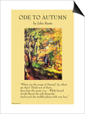 Ode To Autumn Prints