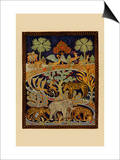 Animal Tapestry Prints by  Needlecraft Magazine