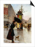 Paris Street Scene Posters by Francis Garat