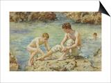 The Bathers Prints by Henry Scott Tuke