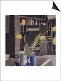 Yellow Tulips Posters by Charles Rennie Mackintosh