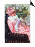 The Cup of Tea Posters by Mary Cassatt