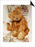 A Cinnamon Steiff Teddy Bear, circa 1905 Poster by  Steiff