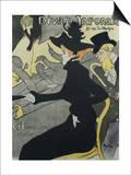 Divan Japonais, 1893 Láminas por Henri de Toulouse-Lautrec