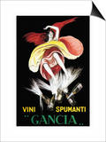 Vini Spumanti Gancia Art by Leonetto Cappiello