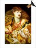Monna Vanna Poster by Dante Gabriel Rossetti