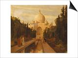The Taj Mahal, 1879 Poster by Valentine Cameron Prinsep