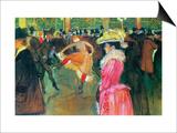 Ball in the Moulin Rouge Láminas por Henri de Toulouse-Lautrec