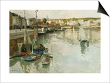 Dieppe Print by Frits Thaulow