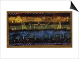 Garden on the Level Posters par Paul Klee