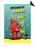Mechanized Robot Poster