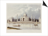 The Taj Mahal, Tomb of the Emperor Shah Jehan and His Queen, circa 1824 Prints by Charles Ramus Forrest