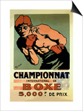 International Boxing Championship Prints