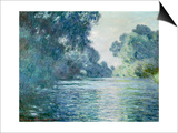 Branch of the Seine near Giverny Art by Claude Monet