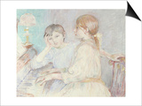 Le Piano, 1888 Posters by Berthe Morisot