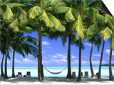 Aitutaki, Cook Islands, New Zealand Prints by Peter Adams
