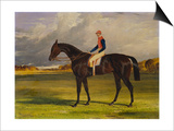 The Earl of Chesterfield's Filly 'Industry', with W. Scott Up, in a Landscape Prints by John Frederick Herring I