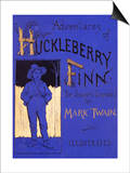 Huckleberry Finn Prints