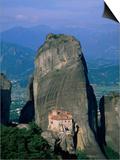 Monastery of Rousanou Prints by Steven Vidler