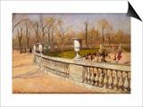 Jardin Du Luxembourg, 1883 Prints by Fritz Thaulow