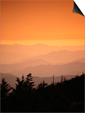 Great Smoky Mountains at Twilight Prints by Cody Wood