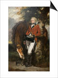 Captain George H. Coussmaker Posters by Sir Joshua Reynolds