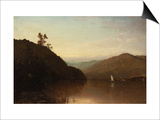 Along the Hudson Prints by John Frederick Kensett