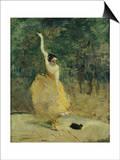 The Spanish Dancer, 1888 Láminas por Henri de Toulouse-Lautrec