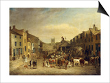 The Skipton Fair of 1830 Prints by Thomas Burras of Leeds