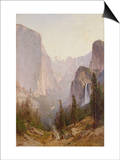 Yosemite Waterfall Prints by Thomas Hill