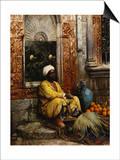 The Orange Seller Poster by Ludwig Deutsch