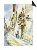 A Street Scene, Toledo Prints by Marin Higuero Enrique